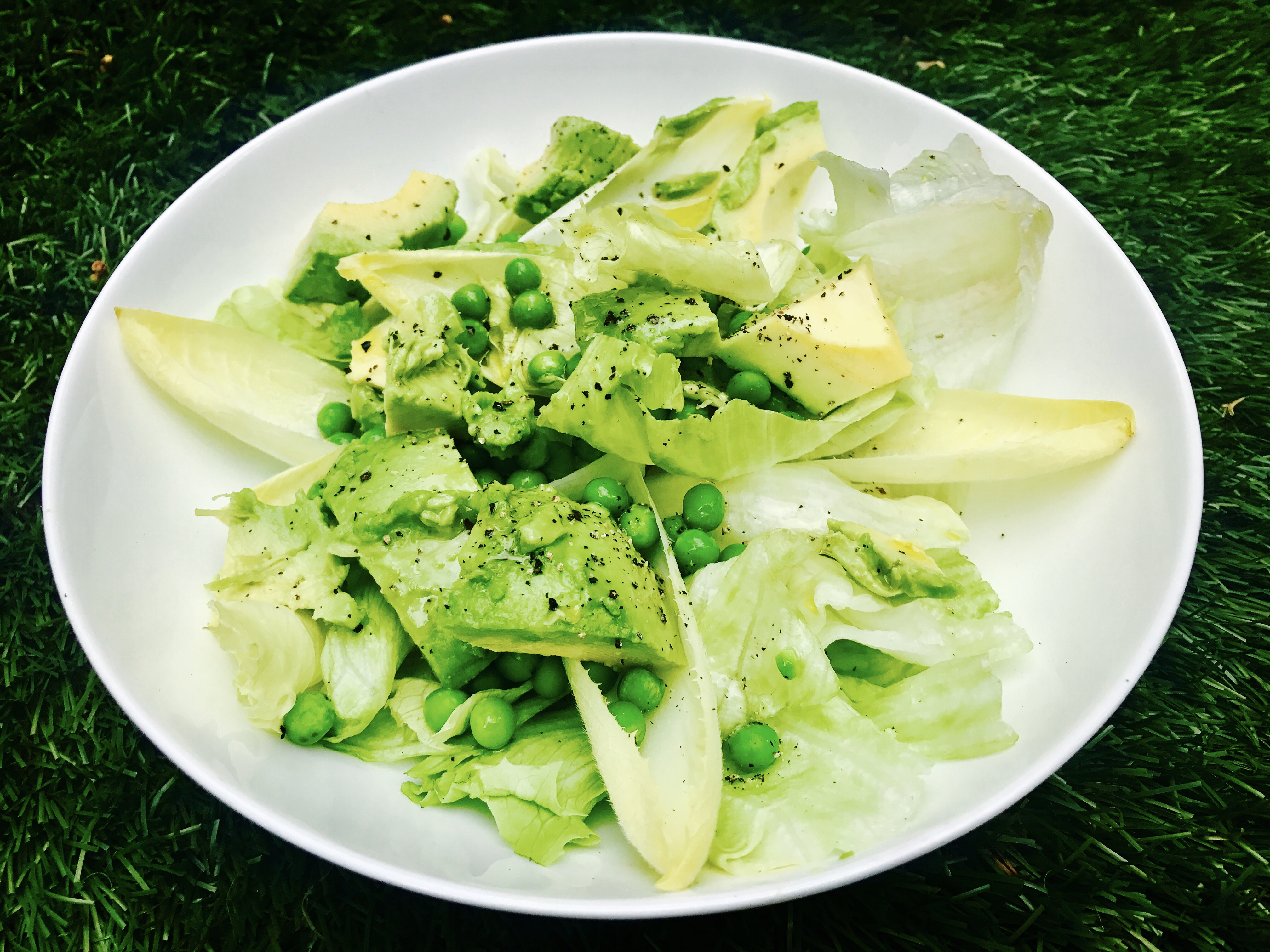 SugarDoctor Recipe Pea and avocado salad