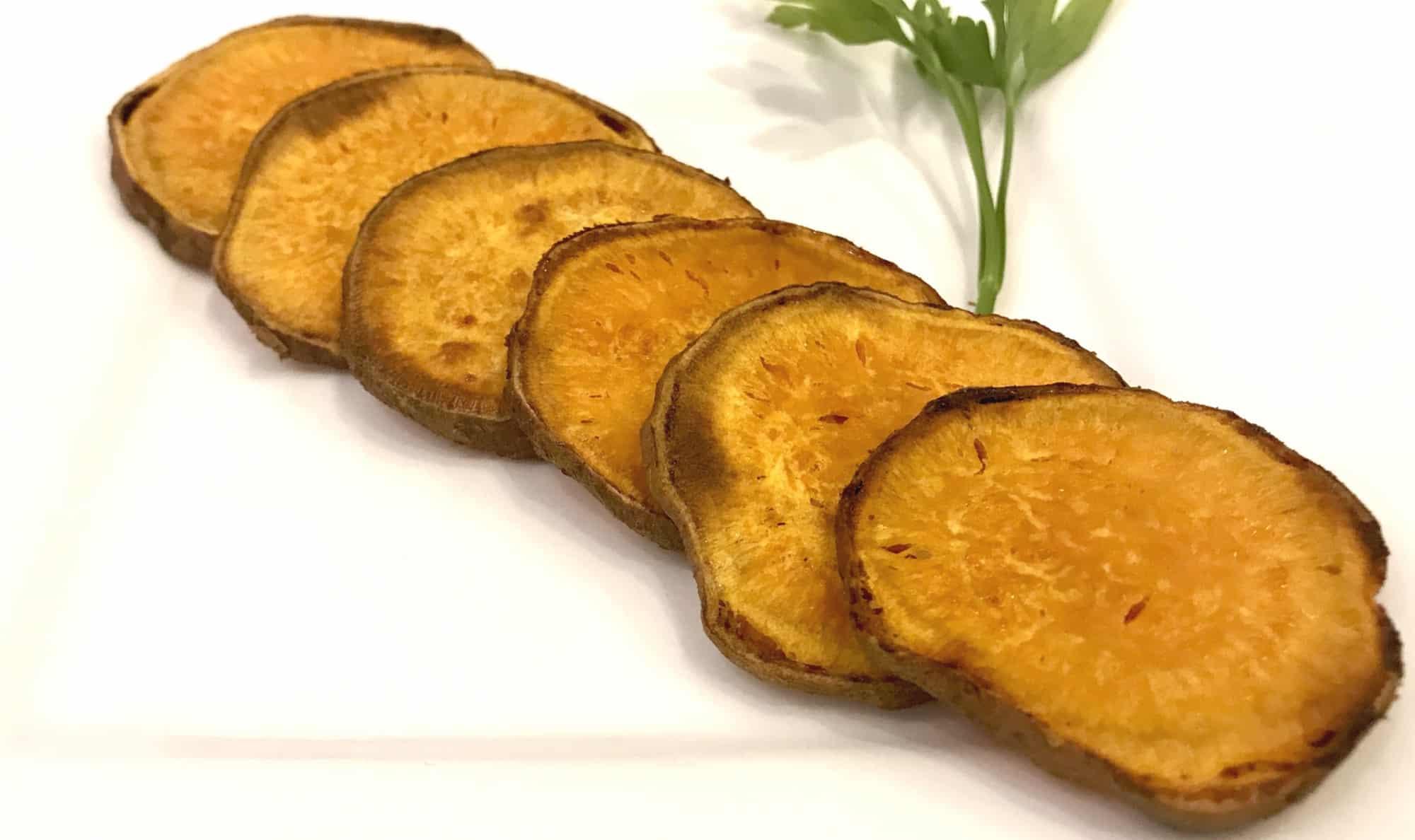 SugarDoctor Recipe Roasted sweet potato discs