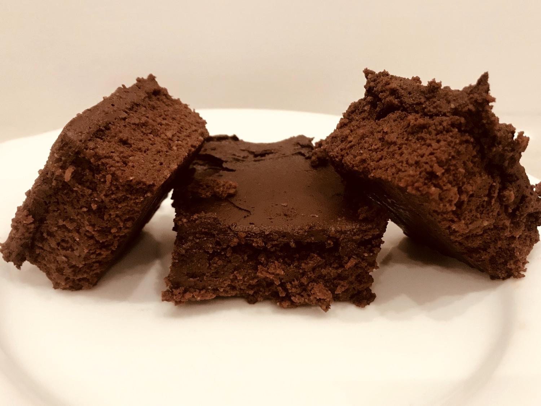 SugarDoctor Recipe Sugar free brownies on a plate